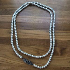 Lanvin long necklace